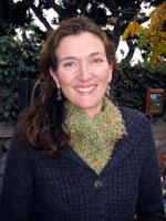 Green and Brown Scarf