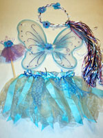 Blue and Violet Fairy