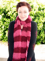 Striped Over-Sized Scarf
