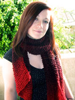Over-Sized Gradient Scarf